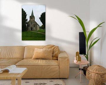 Église Saint-Nicolas, Steventon sur Patricia Leeman