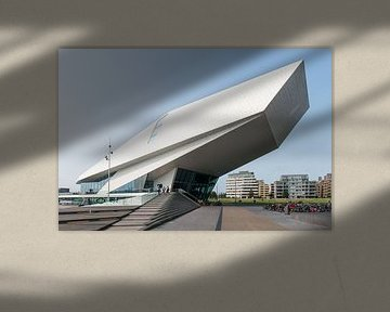 EYE Filmmuseum en bioscoop van Wim Stolwerk