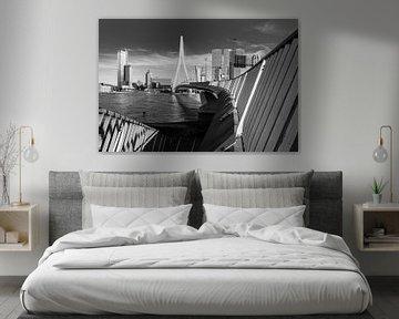 Die Erasmus-Brücke zum Kop van Zuid von Remco-Daniël Gielen Photography