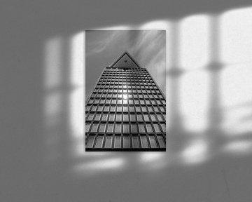 Spiegelung der Sonne im Fenster von Buis Photography