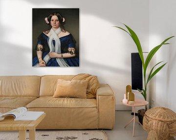 Porträt von Frau Elsler, Benno Fischer
