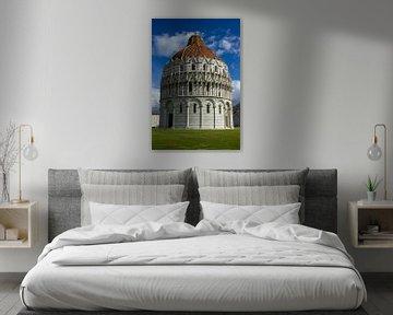 Das Baptisterium von Pisa (Battistero di San Giovanni) in der Toskana, Italien von Discover Dutch Nature