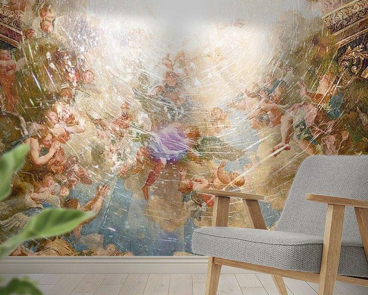 Sfeerimpressie behang: Mislukte pogingen van Godsfotografie van Jonathan Schöps | UNDARSTELLBAR