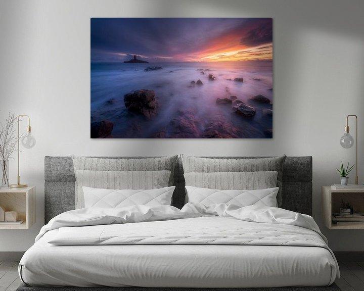 Beispiel: Sonnenuntergang über dem Dramont und der Goldenen Insel von Yannick Lefevre