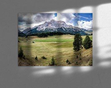 Panorama in Zuid-Tirol van Steffen Peters