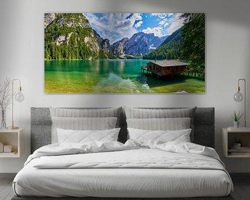 Pragser Wildsee Zuid-Tirol van Reiner Würz / RWFotoArt