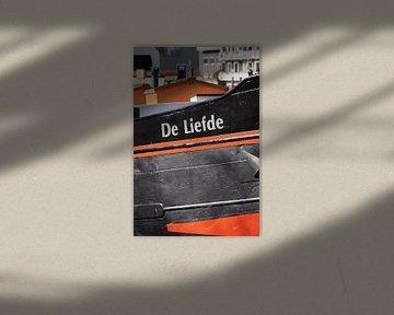 """Boot """"Liebe""""Detailfoto Farbportrait von Marion Hesseling"""