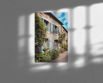 Pittoresk Frans dorpje in Bretagne van Daphne Groeneveld