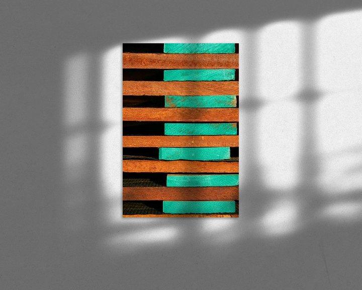 Sfeerimpressie: Stapel hout van Anne Reitsma