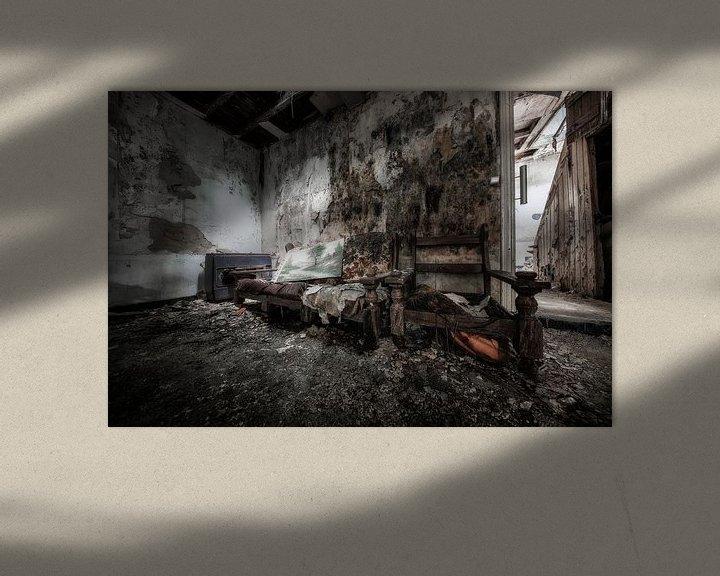 Sfeerimpressie: Verlaten plekken: Locatie Laundry Day van Steven Dijkshoorn