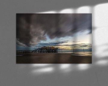 Unwetter nähert sich der Strandbar 54 Grad Nord von Annett Mirsberger