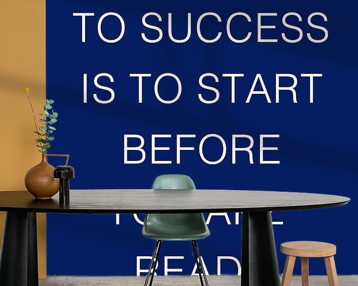 Sfeerimpressie behang: De sleutel tot succes van Silva Wischeropp