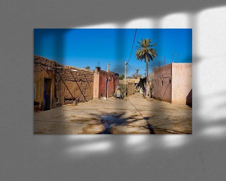Sfeerimpressie: Straatje in dorpje van Els Hattink