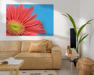 Gedeeltelijke weergave van een looierij bloem van Anneliese Grünwald-Märkl