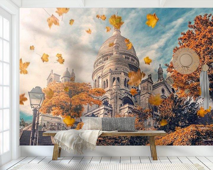 Impression: Montmartre en automne sur Manjik Pictures
