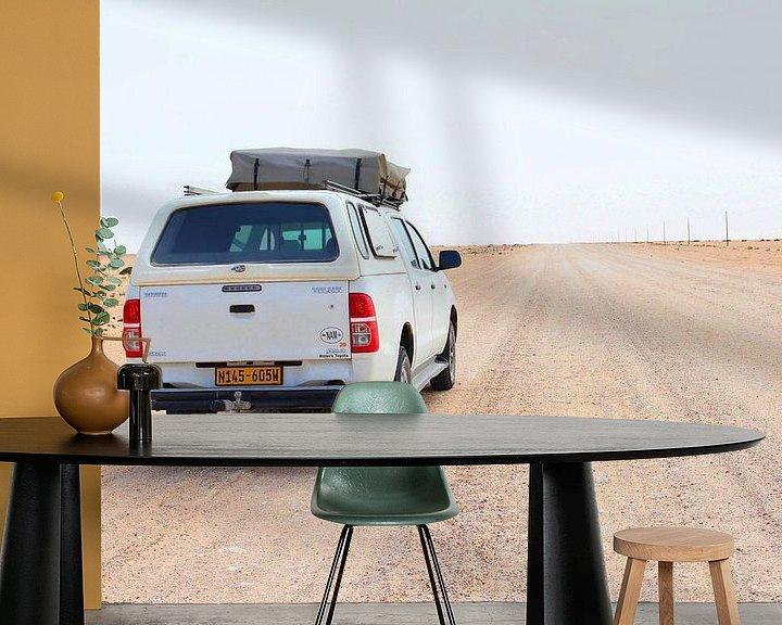 Sfeerimpressie behang: Offroad avontuur, Namibië van Inge Hogenbijl