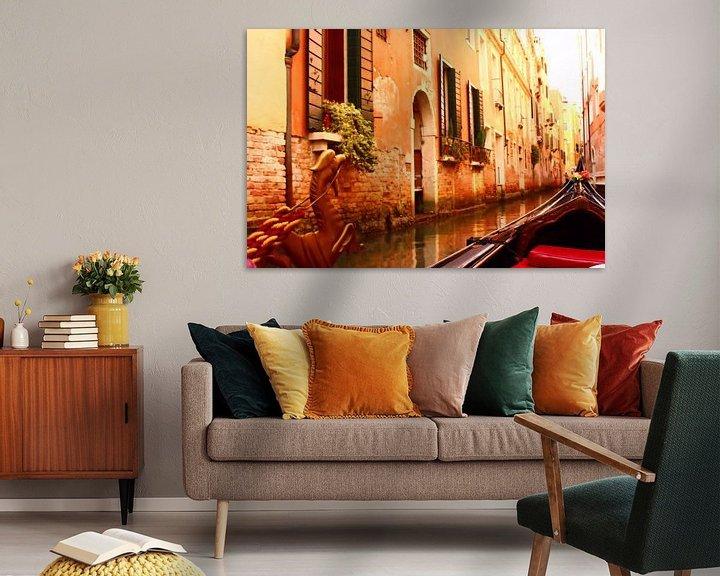 Impression: Venise cachée sur Loretta's Art