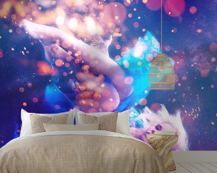 Sfeerimpressie behang: Maanlichtsonate deel 3 van Sharon Harthoorn
