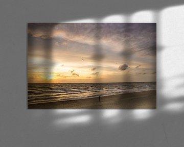 zachte zonsondergang van Danny Tchi Photography