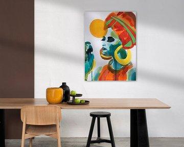 Papageiengespräch von Helia Tayebi Art