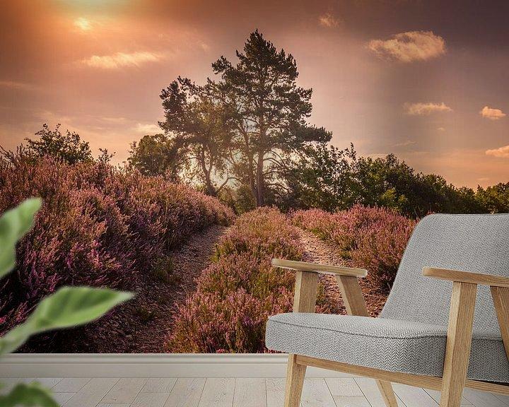 Sfeerimpressie behang: World of summer van Wim van D