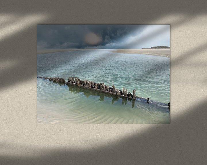 Beispiel: Schiffbruch auf der Boschplaat von Jan Huneman
