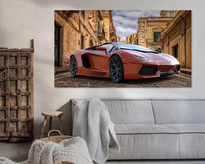 Sfeerimpressie: Lamborghini Aventador van H.m. Soetens