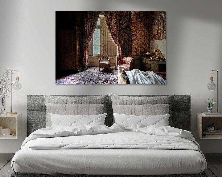 Beispiel: Verlassenes Schlafzimmer im Verfall. von Roman Robroek