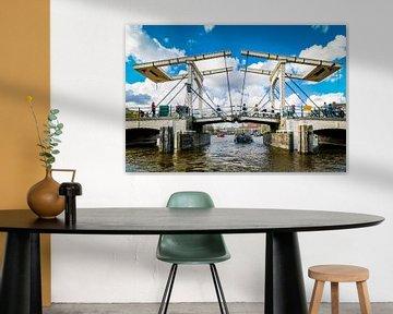 Magere Brücke, Amsterdam von Patrick Ouwerkerk