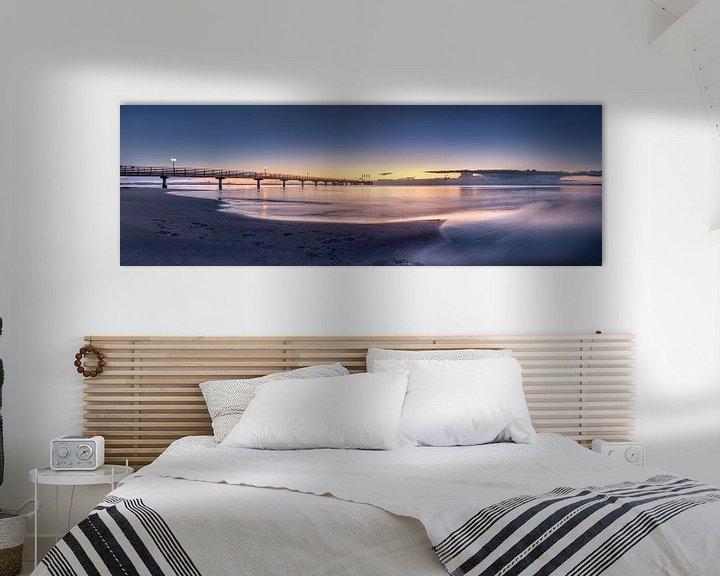 Sfeerimpressie: Oostzee bij Scharbeutz in het zachte ochtendlicht van Voss Fine Art Fotografie