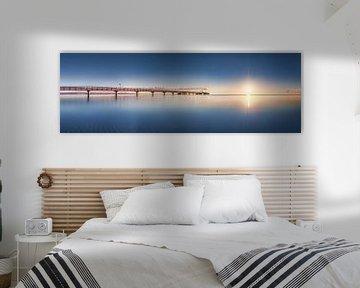 Zomerse Oostzee bij Scharbeutz en Timmendorfer Strand van Fine Art Fotografie