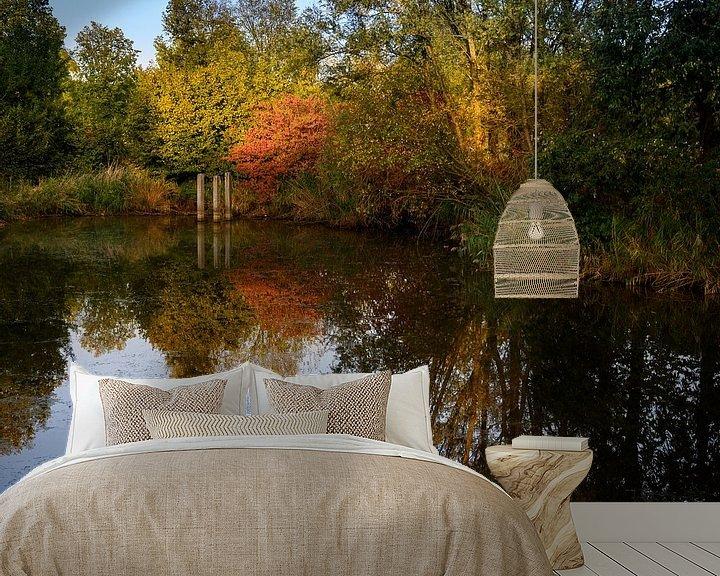 Sfeerimpressie behang: begin van de herfst van John Driessen