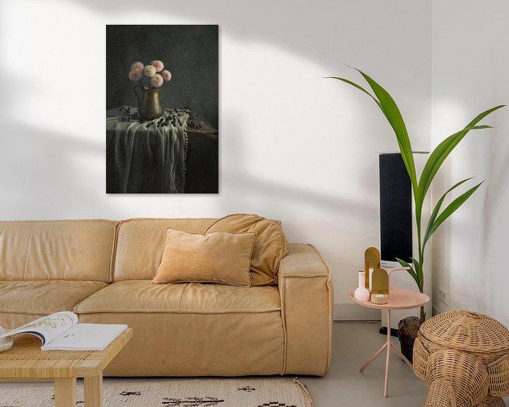 Sfeerimpressie: Stilleven met bloemen (gezien bij vtwonen) van Carolien van Schie