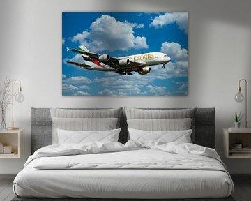 Airbus A310-842, Emirates. Registratie A6-EVD van Gert Hilbink