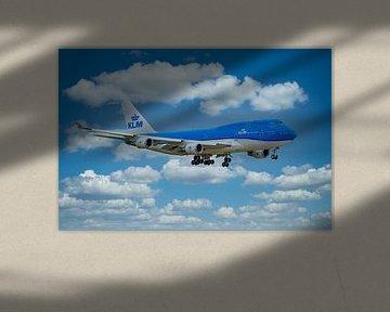 KLM Boeing 747-400, PH-BFW,  City of Shanghai van Gert Hilbink