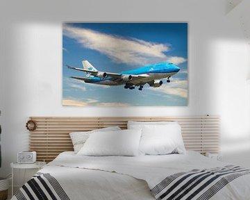 KLM Boeing 747-400M, PH-BFV. City of Vancouver van Gert Hilbink