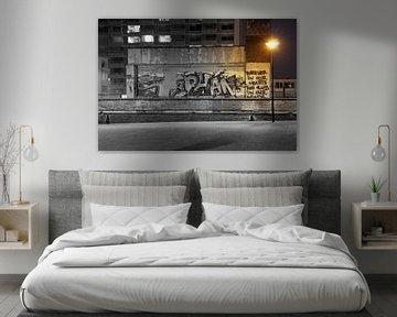 Schwarzweißfotografie - Licht in der Dunkelheit... von Bert - Photostreamkatwijk
