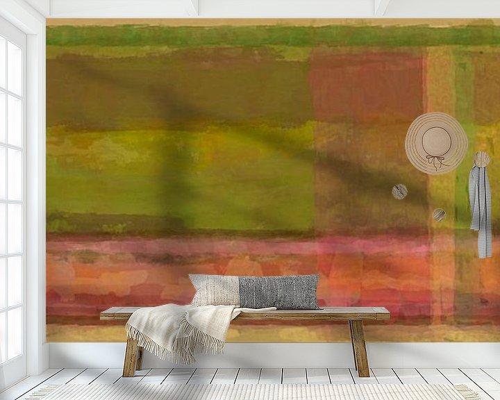 Beispiel fototapete: Panorama 'Rothko', erdige Töne von Rietje Bulthuis