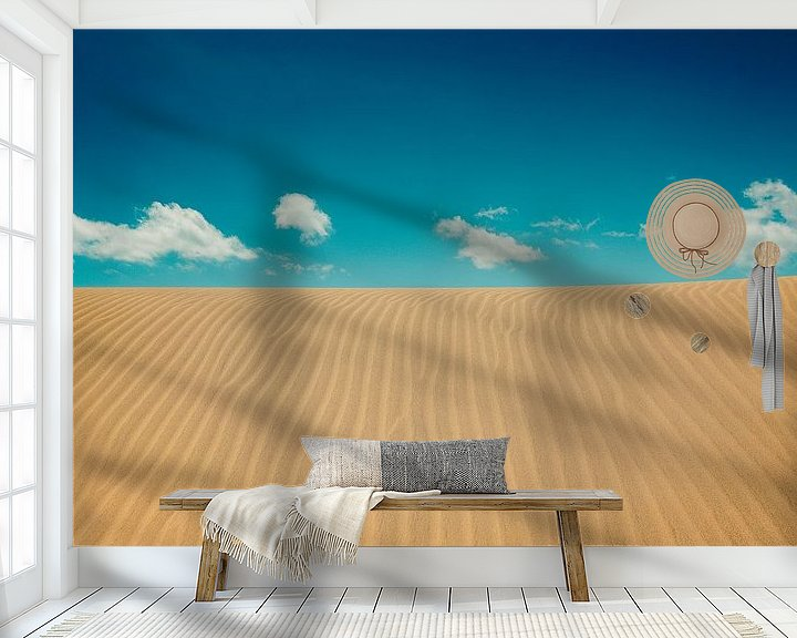 Impression: Une plage tranquille sur Tomasz Baranowski