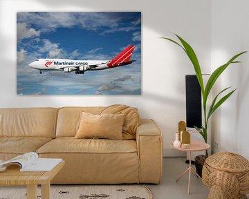 Martinair Cargo Boeing 747-412BCF, vrachtvliegtuig. Reg.nummer PH-MPS van Gert Hilbink
