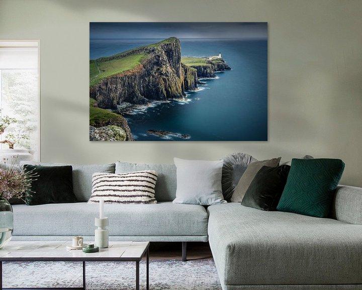 Sfeerimpressie: Neist Point Lighthouse van Wim van D