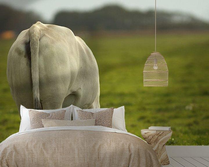 Beispiel fototapete: Kuh von Michelle van Doorn