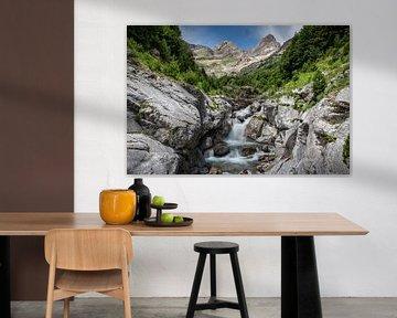 Pineta Valley Waterval van Marc Vandijck
