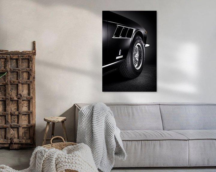 Sfeerimpressie: 1968 Ferrari 330 GTC van Thomas Boudewijn