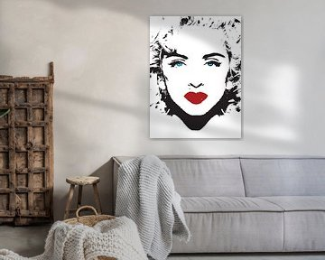 Madonna pop artist van sarp demirel