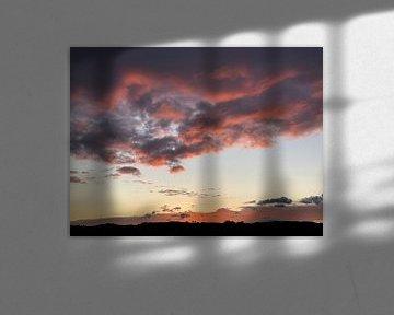 Roze wolken van Emma Van Leur