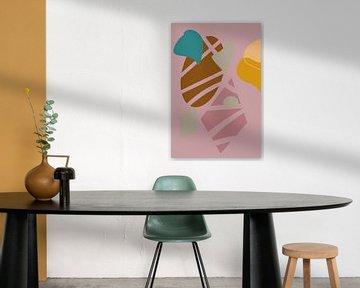 Des surfaces colorées