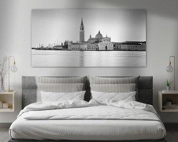Zonsopkomst San Giorgio Maggiore, Venetië, Italië van Henk Meijer Photography