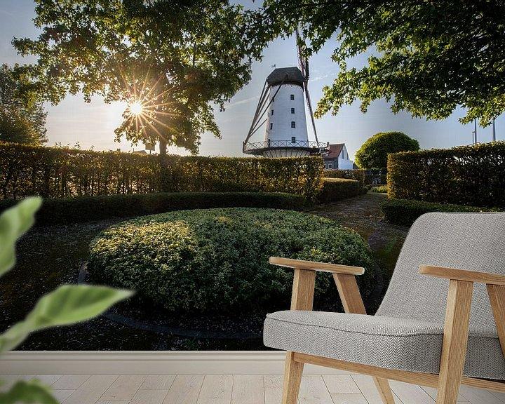 Impression: Lever de soleil au Moulin : le bon espoir à Menin sur Fotografie Krist / Top Foto Vlaanderen