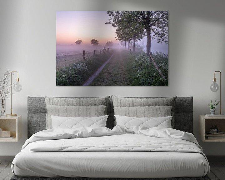Impression: Voyage dans la rosée lors d'une matinée brumeuse le long de la Lys à Wevelgem sur Fotografie Krist / Top Foto Vlaanderen
